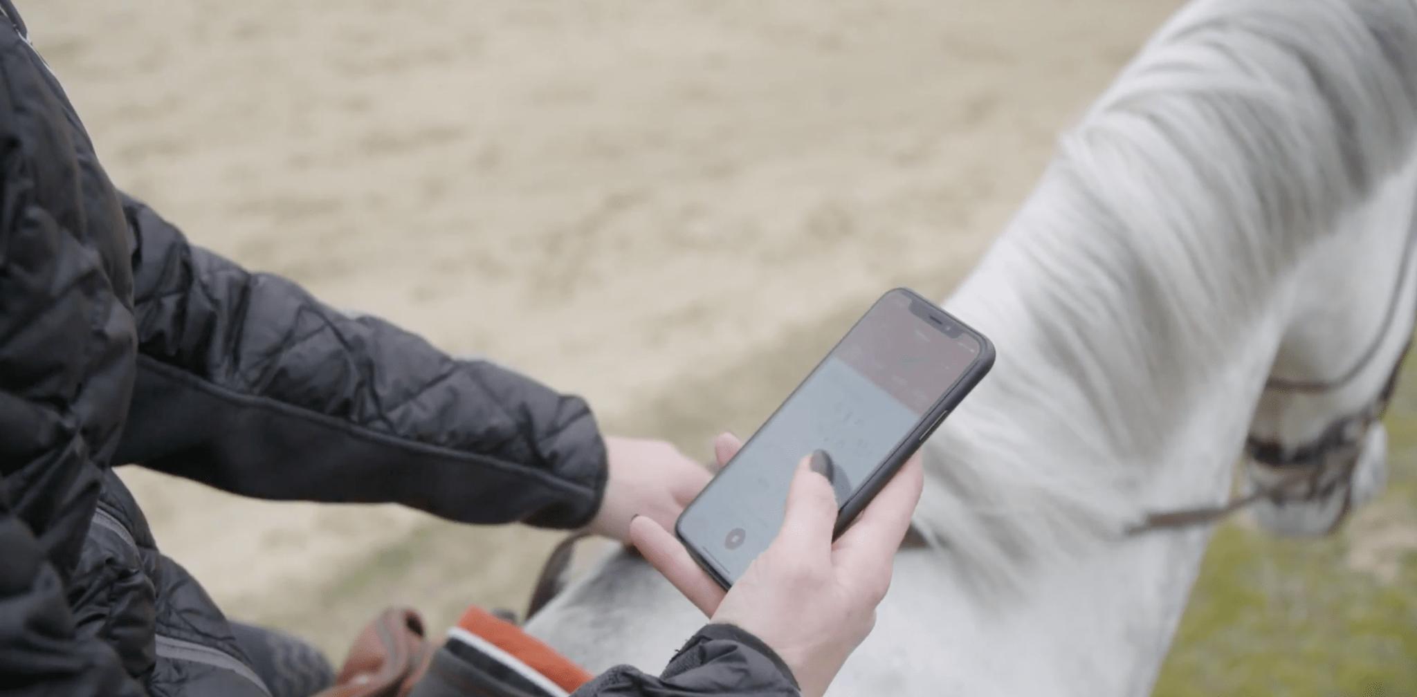 equisense capteur connecté pour l'équitation